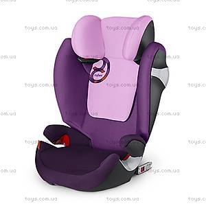 Автокресло Solution M-Fix «Grape Juice-purple», 515114019