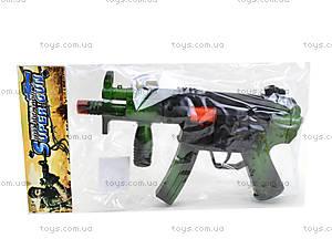 Автомат-трещетка Military, 157-123, игрушки