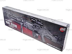 Игрушечный автомат с пульками, лазерным прицелом, 338, toys.com.ua