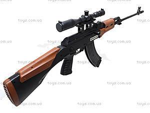 Игрушечный автомат с пульками и лазером, AK47A, купить