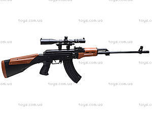 Игрушечный автомат с пульками и лазером, AK47A, цена