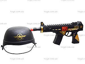 Автомат c каской «Отважный солдат», M646, цена