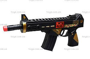 Автомат c каской «Отважный солдат», M646, детские игрушки