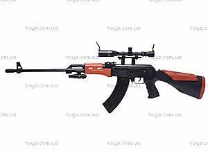 Автомат для мальчиков, с пульками, AK2201B