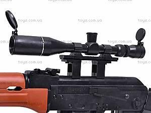 Автомат для мальчиков, с пульками, AK2201B, отзывы