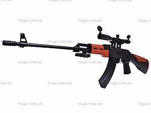 Автомат для мальчиков, с пульками, AK2201B, игрушки