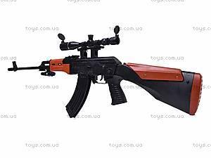 Автомат для мальчиков, с пульками, AK2201B, магазин игрушек