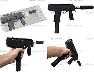 Автомат игрушечный с глушителем, HY.733-4