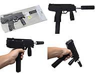Автомат игрушечный с глушителем, HY.733-4, купить