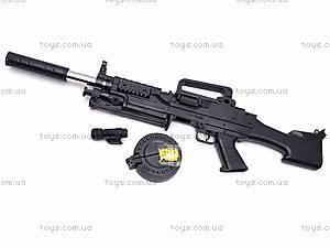 Автомат и комплект пулек, 992-3, игрушки