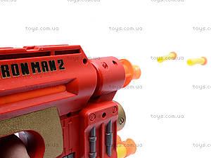 Автомат и пули Iron Man, 99642E, игрушки