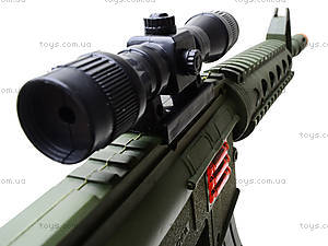 Автомат игрушечный с трещеткой, M16F, купить