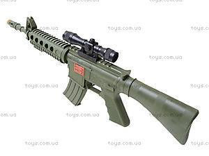 Автомат игрушечный с трещеткой, M16F, отзывы