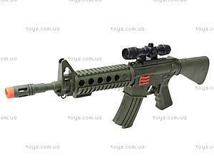 Автомат игрушечный с трещеткой, M16F, игрушки