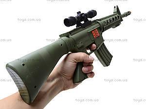 Автомат игрушечный с трещеткой, M16F, детские игрушки