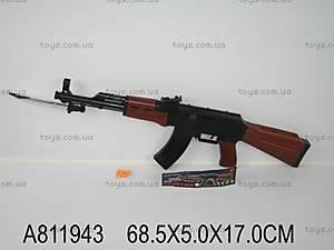 Автомат Калашникова, с ножом, АК47-388А