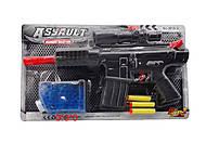 Автомат M16 с гелиевыми пульками и присосками, M16-3, toys