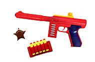 Автомат «M60» с мягкими патронами красный, 909, цена