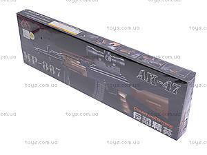 Автомат с пульками, лазерным прицелом, MP-886887, купить
