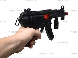 Игрушечный автомат - трещотка для малышей, MP5-2, фото