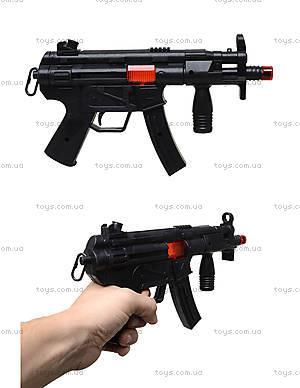 Игрушечный автомат - трещотка для малышей, MP5-2