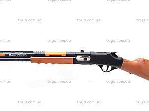 Ружье музыкальное Black Hawk, 5501, игрушки