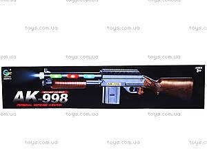 Автомат музыкальный «Охота», AK-998-2, детские игрушки