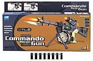 Автомат музыкальный «Commando», DF-12218B, купить