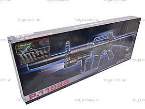 Автомат на пулях с прицелом и фонариком, P.1158A