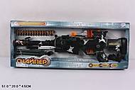Автомат «Снайпер» с музыкальными и световыми эффектами, 7146, купить