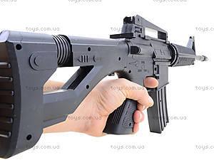 Автомат игрушечный на пулях, M-16, купить