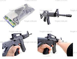 Автомат игрушечный на пулях, M-16