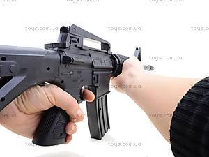 Автомат игрушечный на пулях, M-16, детские игрушки