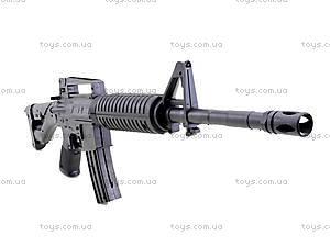 Автомат игрушечный на пулях, M-16, toys.com.ua
