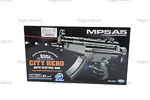 Автомат с лазерным прицелом City Hero, MP5A5, цена