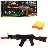 """Автомат с поролоновыми патронами """"АК-47"""", SY011A, купить"""