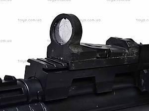 Автомат с прицелом и фонариком, 017C, фото