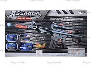 Детский автомат с водяными пулями, в коробке, M16, toys.com.ua