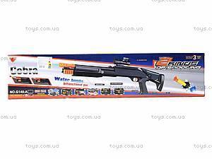 Игрушечный автомат с водяными пулями, G140-B, фото