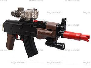 Автомат с водяными пулями и дартсом, M47-5+, детские игрушки