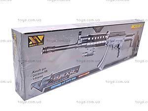 Автомат стреляющий пульками, M2018-1, детские игрушки
