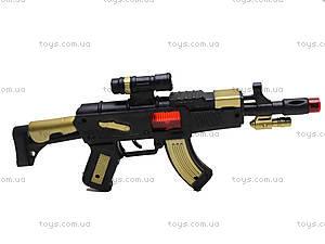 Автомат-трещетка для детей, AK-111213, фото