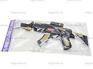 Автомат-трещетка для детей, AK-111213