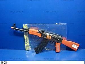 Автомат-трещетка для мальчиков, AK47-112