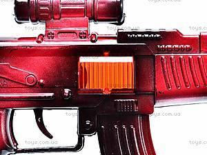 Автомат-трещотка, 3 вида, 357-A1, игрушки