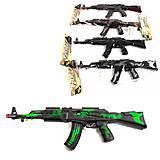Автомат-трещотка «AK-47», 668-1, отзывы