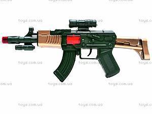 Автомат-трещотка для мальчиков, AK-9