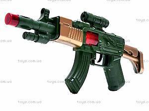 Автомат-трещотка для мальчиков, AK-9, фото