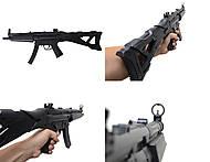 Автомат игрушечный стреляющий пульками, TS55, купить