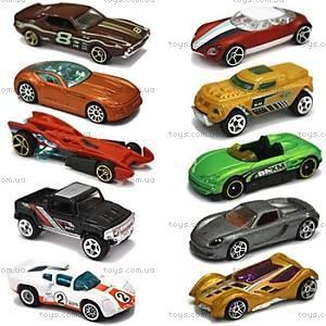 Автомобиль Hot Wheels базовый, 10 штук, 54886, купить